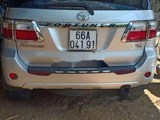 Bán xe Toyota Fortuner năm sản xuất 2009, màu bạc, xe nhập
