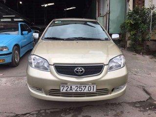Bán ô tô Toyota Vios 2003, màu vàng chính chủ