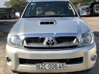 Bán Toyota Hilux năm sản xuất 2011, màu bạc, nhập khẩu