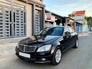 Cần bán xe Mercedes C200 đời 2009, màu đen, 367 triệu