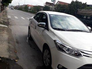 Bán xe Toyota Vios 1.5 bản G năm sx 2016, số tự động màu trắng, đi giữ gìn