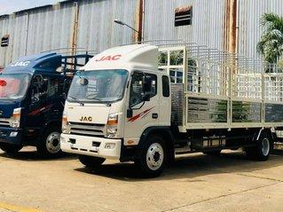 Xe tải Jac 9 tấn phiên bản cao cấp JAC N900 sử dụng động cơ Cummins Mỹ, trả trước 250 triệu, hồ sơ vay bao đậu