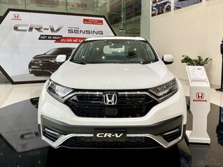 Honda CRV 2020 giảm sâu siêu khủng, hỗ trợ thuế trước bạn 100% - 80 triệu combo quà tặng