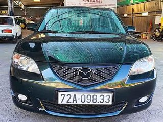 Cần bán xe Mazda 3 sản xuất năm 2004, màu xanh lam, nhập khẩu nguyên chiếc còn mới giá cạnh tranh