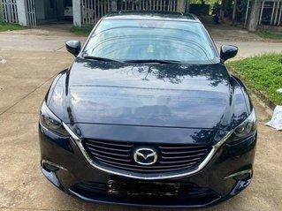 Cần bán lại xe Mazda 6 đời 2017, màu đen, giá 700tr