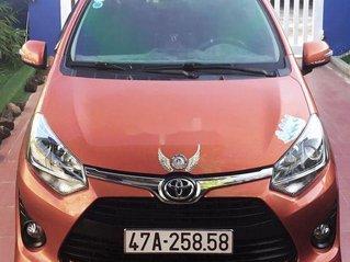 Bán ô tô Toyota Wigo đời 2018, xe nhập, màu cam