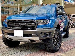 Bán xe Ford Ranger Raptor năm sản xuất 2020, màu xanh lam, nhập khẩu