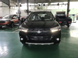 Suzuki XL7 màu đen SUV 7 chỗ nhập khẩu, hỗ trợ trả góp 0% tại Suzuki quận 12