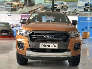 Ford Ranger Wildtrak new giá tốt - giảm tiền mặt - tặng full phụ kiện + bảo hiểm 2 chiều - vay 90%