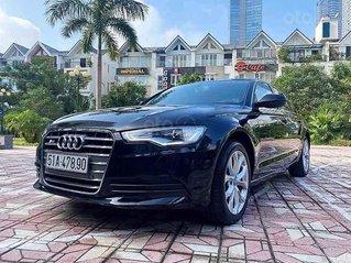 Bán Audi A6 2.0 sản xuất năm 2013, màu đen, nhập khẩu nguyên chiếc, giá tốt