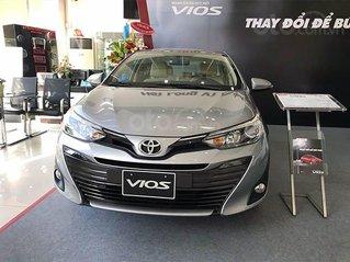 Toyota Vios 2021 KM tiền mặt, kèm tặng phụ kiện, giao xe ngay, trả góp lên đến 85%