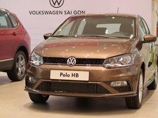 Vw Polo Hatchback 2020 màu nâu - xe Đức nhập khẩu giá chỉ 695 triệu - khuyến mãi T11 lên đến 11 triệu đồng + quà tặng