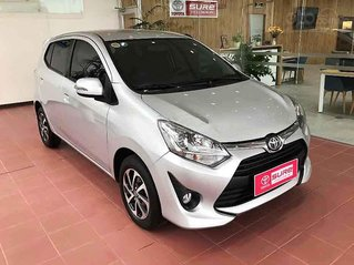 Bán Toyota Wigo năm sản xuất 2019, màu bạc, nhập khẩu nguyên chiếc