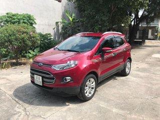 Cần bán xe Ford EcoSport đời 2017, màu đỏ số tự động, giá 445tr