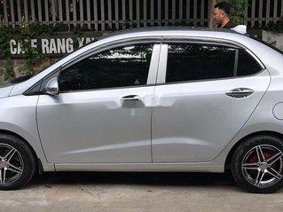Cần bán lại xe Hyundai Grand i10 2017, màu bạc, chính chủ