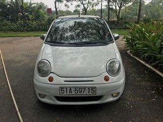 Cần bán Daewoo Matiz đời 2007, màu trắng xe gia đình