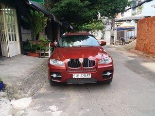 Bán ô tô BMW X6 năm sản xuất 2008, màu đỏ, nhập khẩu
