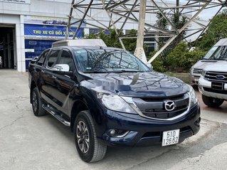 Bán Mazda BT 50 sản xuất 2017, màu đen số tự động, giá chỉ 525 triệu