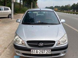 Bán Hyundai Getz đời 2009, màu bạc, xe nhập