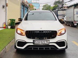 Cần bán Mercedes-Benz GLC-200 lên body GLC63 đăng ký lần đầu 2019, màu trắng/nâu