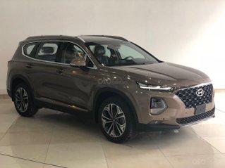 [TP HCM] Hyundai Santafe 2020 giảm 100% thuế trước bạ và tiền mặt kèm theo phụ kiện hấp dẫn, xe đủ màu giao ngay
