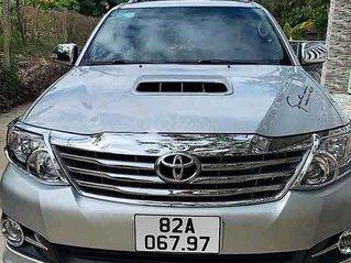 Bán ô tô Toyota Fortuner sản xuất năm 2014, màu bạc, xe gia đình