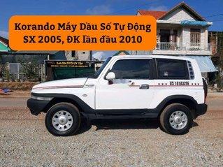 Cần bán gấp Ssangyong Korando sản xuất 2005, màu trắng, nhập khẩu còn mới
