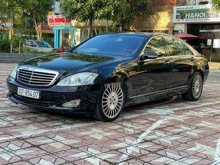Cần bán xe Mercedes S350 đời 2007, màu đen, nhập khẩu nguyên chiếc, giá chỉ 685 triệu