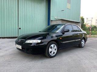 Xe Mazda 626 năm sản xuất 2001, màu đen chính chủ
