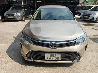 Bán hoặc trao đổi Toyota Camry E, đời 2017, màu ghi vàng
