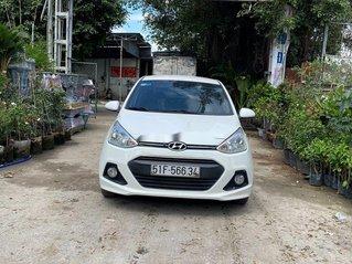 Bán ô tô Hyundai Grand i10 2015, màu trắng, nhập khẩu