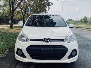 Xe Hyundai Grand i10 sản xuất năm 2016, màu trắng, nhập khẩu nguyên chiếc còn mới, giá tốt