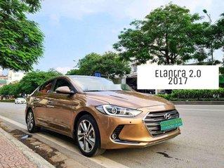 Cần bán Hyundai Elantra đời 2017, màu nâu còn mới, 554 triệu