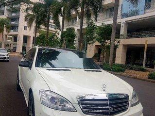 Cần bán xe Mercedes S550 độ lên S65 AMG đời 2006, màu trắng, nhập khẩu nguyên chiếc