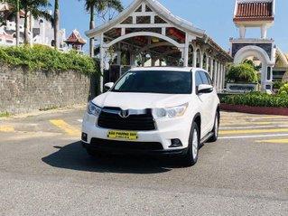 Cần bán gấp Toyota Highlander 2014, màu trắng, nhập khẩu