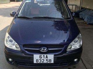 Cần bán xe Hyundai Getz đời 2008, màu xanh lam, nhập khẩu, giá tốt