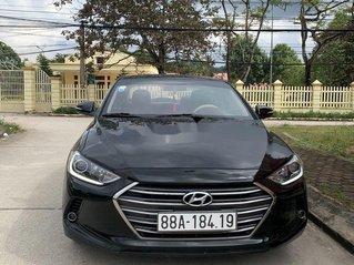 Cần bán xe Hyundai Elantra sản xuất năm 2017, màu đen chính chủ