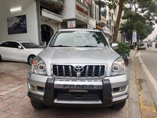Cần bán xe Toyota Prado đăng ký 2008, màu bạc mới 95%, giá chỉ 585 triệu đồng