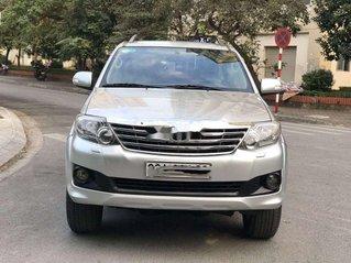 Bán Toyota Fortuner năm sản xuất 2013, màu bạc ít sử dụng, giá 460tr
