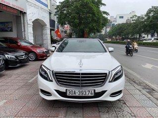 Bán ô tô Mercedes S400 năm sản xuất 2014, màu trắng chính chủ