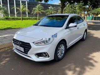 Bán Hyundai Accent 2018, màu trắng chính chủ giá cạnh tranh