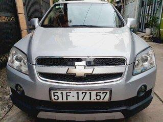 Cần bán lại xe Chevrolet Captiva sản xuất 2009, màu bạc chính chủ