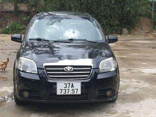 Bán xe Daewoo Gentra đời 2007, màu đen