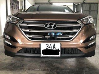 Xe Hyundai Tucson 2016, màu nâu, nhập khẩu