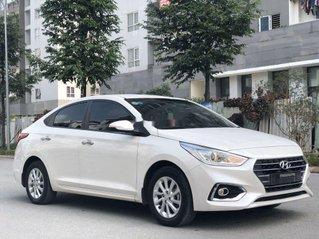 Cần bán lại xe Hyundai Accent sản xuất 2019, màu trắng, giá 499tr