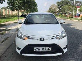 Xe Toyota Vios 2018, màu trắng số sàn