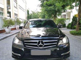 Bán xe Mercedes C200 đời 2014, màu đen, giá 645tr