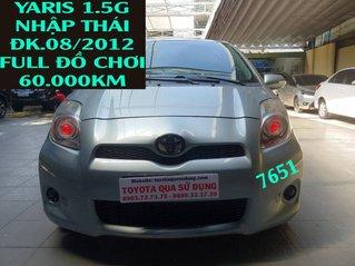 Cần bán xe Toyota Yaris năm 2012, màu bạc, nhập khẩu còn mới
