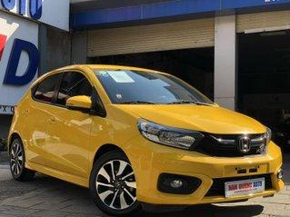 Bán xe Honda Brio nhập khẩu, SX 2020, đăng ký 7/2020 màu vàng