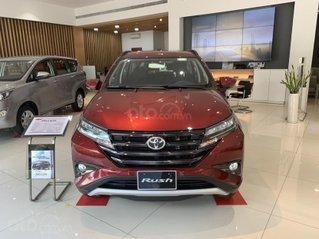 Toyota Rush 2020 - giảm giá sâu kèm nhiều PK chính hãng, tặng 2 năm bảo hiểm - giao xe ngay